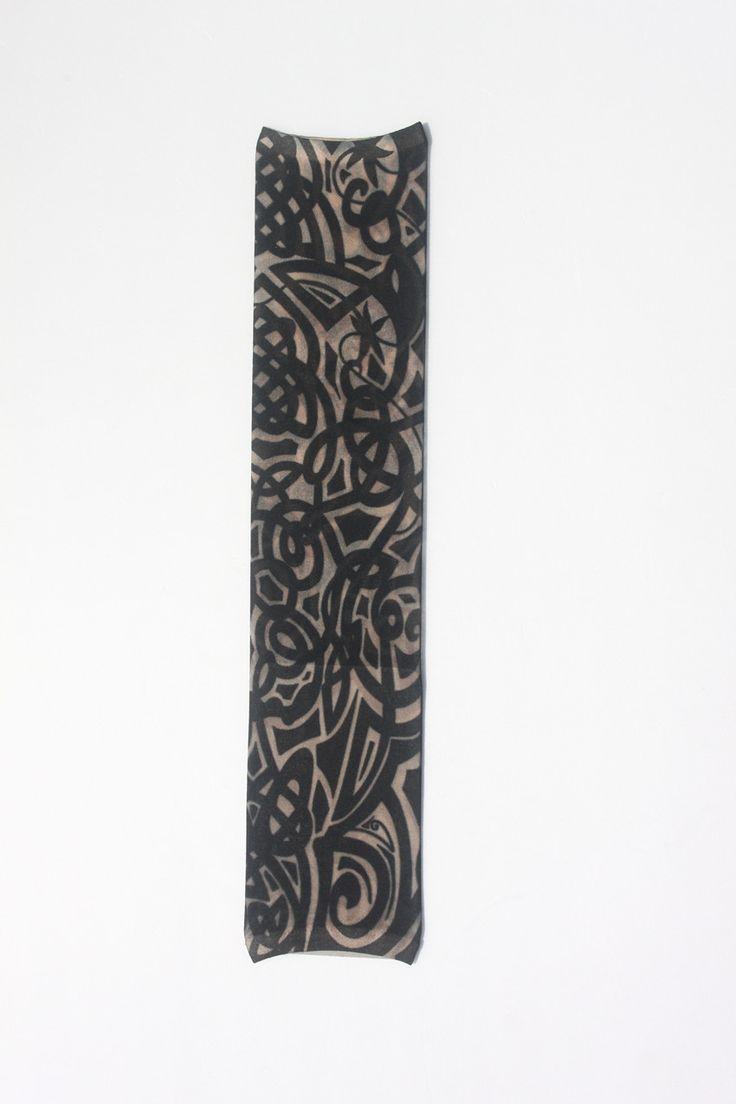 Nur 1 stücke W01 Temporäre Fake Tattoo Kunst Hülse 100% Nylon elastischen Gefälschte temporäre tätowierung ärmel