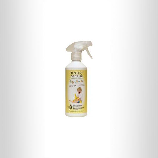 Skuteczny spray do mycia zabawek / Bentley Organic blubalon.pl
