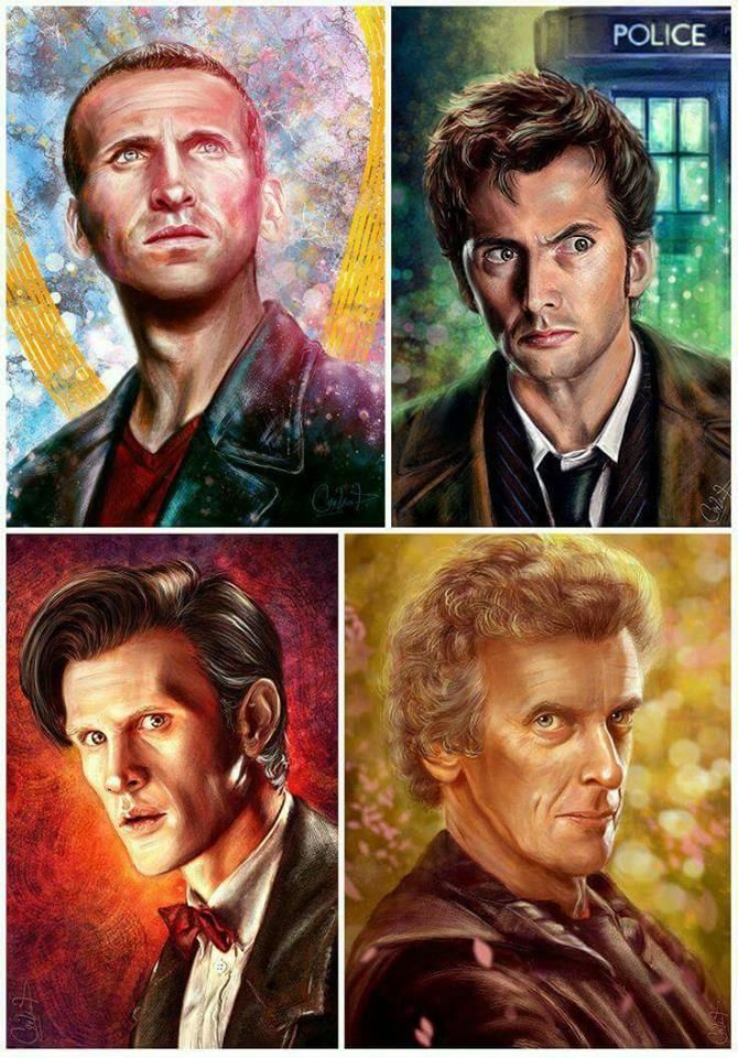 "I absolutely love Dr. Who!!! Favorite is #10, he's dreamy. A close second is #11. Haven't watched #12 much yet. ""Снимка на The Time Lords Academy."""