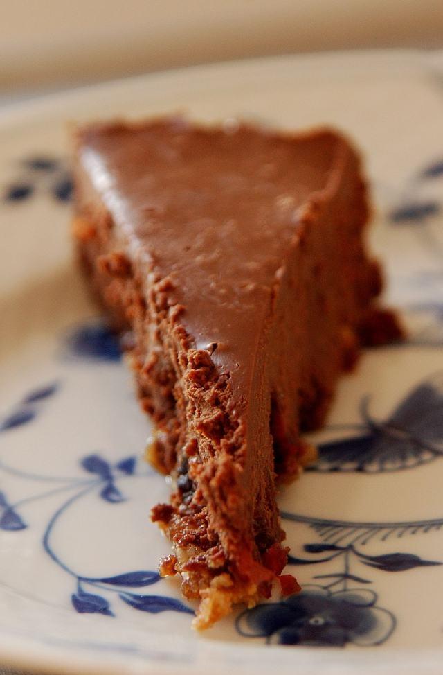 chokoladetrøffelkage