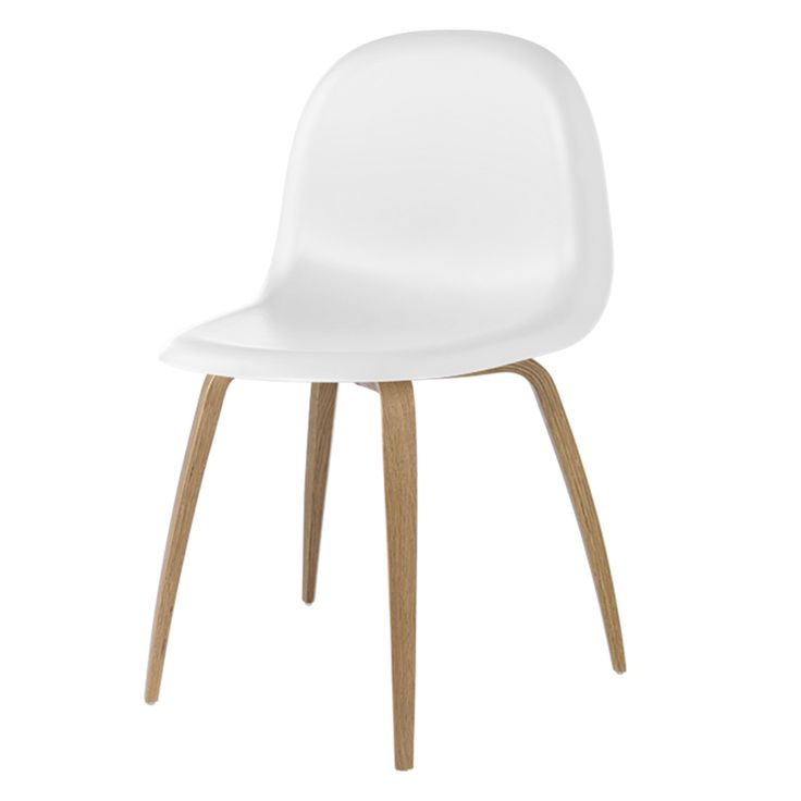 One of Gubi's most innovative products, the Gubi Chair collection, was designed by Boris Berlin and Poul Christiansen of Komplot Design.  The Gubi Chair is the first furniture design to be based on the innovative technique of moulding three-dimensional veneer.  The 3-D design gives the chair a comfortable seat and sense of lightness. Ground-breaking technology also allows