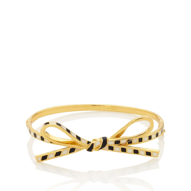 skinny mini bow bangle from kate spade