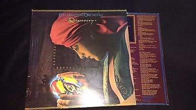 ELECTRIC LIGHT ORCHESTRA (ELO) - Discovery - Vinyl LP *Lyrics Sleeve**Gatefold*