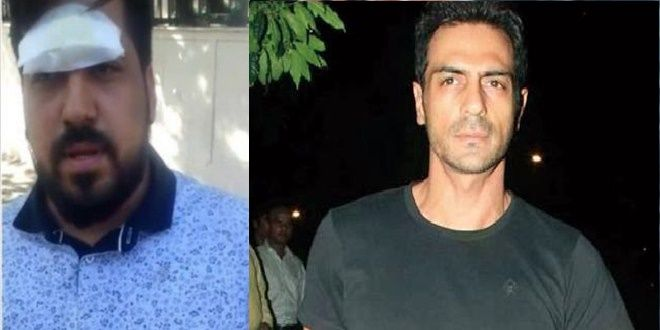 The Bollywood actor Arjun Rampal has been booked for the case of assault. He has got himself into the legal trouble after a complaint against the actor has been filed for attacking a man and throwing a camera at him. As per information, Arjun Rampal was paying the DJ at Club Privee, Shangri-La's Eros Hotel in Delhi last night. The incident occurred when a photographer tried to click the pictures of the actor; he snatched his camera and threw it towards the audience on the dance floor