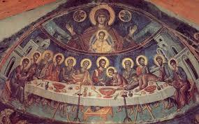 Η τέχνη του θεολογείν: ΣΥΝΑΓΜΕΝΟΙ ΣΤΗ ΘΕΙΑ ΕΥΧΑΡΙΣΤΙΑ: Η ΟΥΣΙΑ ΤΗΣ ΕΚΚΛΗΣ...