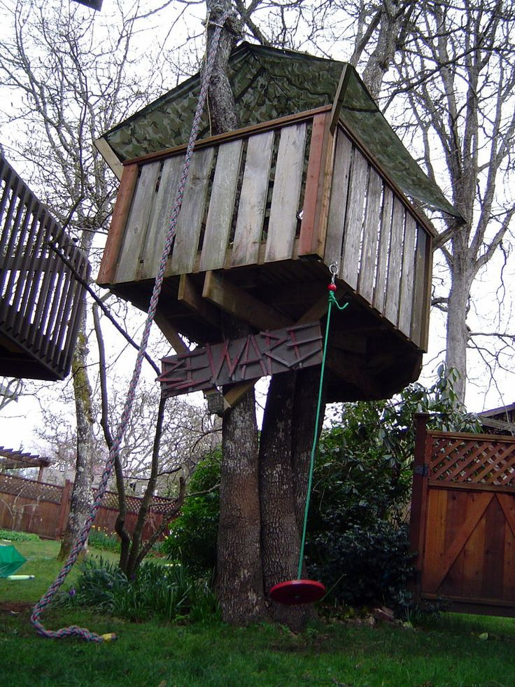 22 best images about tree houses on pinterest for Best backyard tree houses