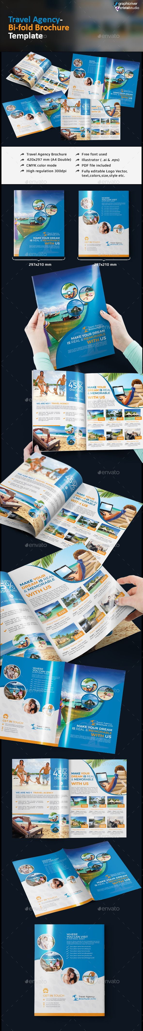 25 great ideas about travel brochure template on for Buy brochure templates