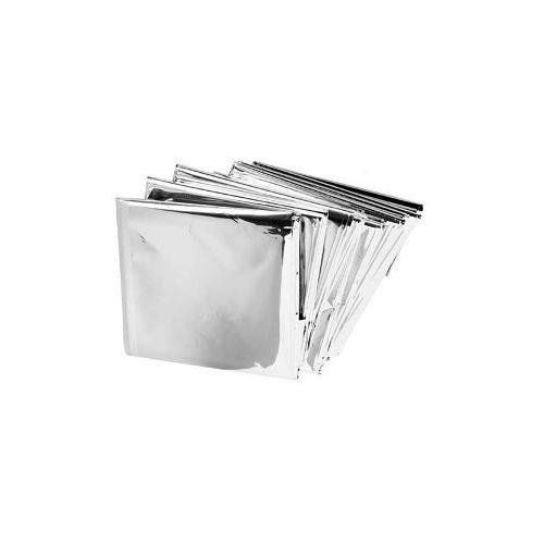 Emergency Mylar Thermal Blankets (Pack of 10) - these Mylar blankets are perfect for creating your own stray and feral cat beds.  The blankets help keep the beds warm.  It's also good to keep a few I your car for emergencies.