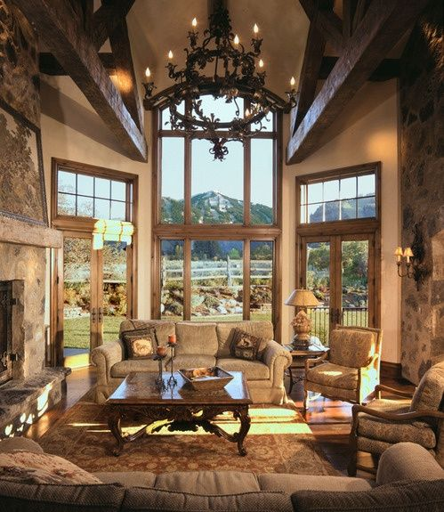 Family room designs furniture and decorating ideas http for Earthy living room ideas
