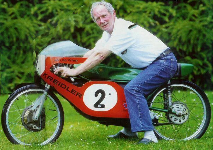 Kreidler - Jan de Vries, World Champion, 50cc class, 1971-1973, @ 2012.