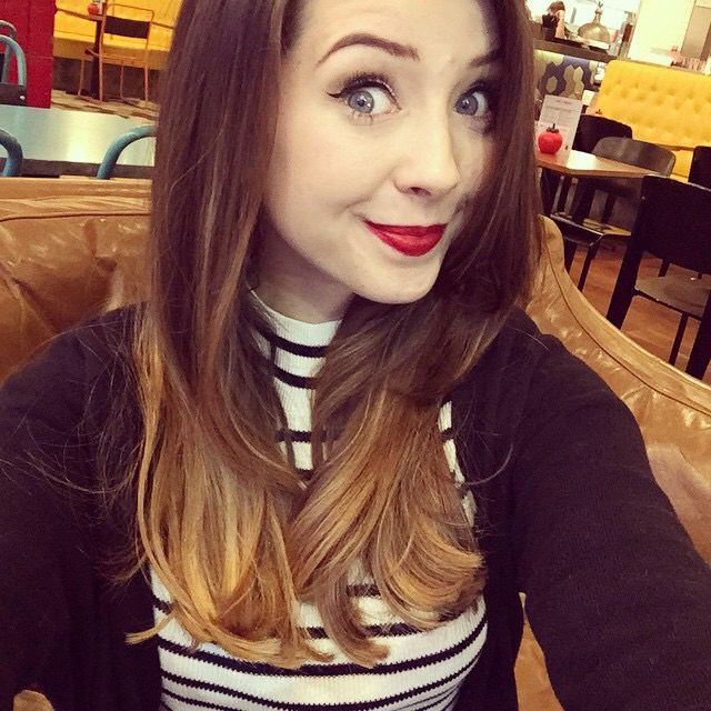 Zoe cut her hair! its so cute