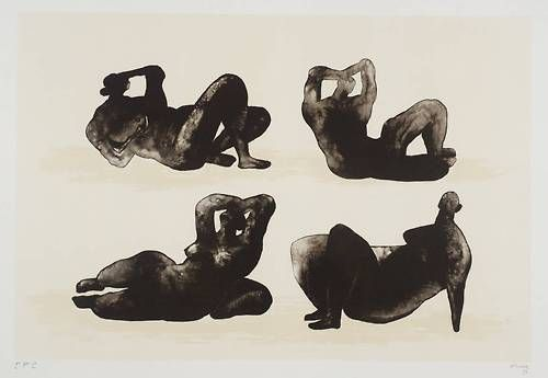 Henry Moore - Hommage a Picasso (1973/1974)