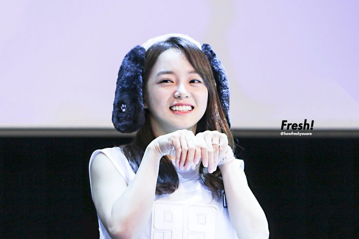 GUGUDAN - Kim SeJeong #김세정 #세정 at Sincheon fansign 160707 #Gu9udan