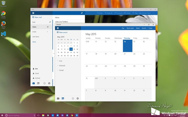How to manage accounts in the new Mail and Calendar app for Windows 10 | Windows Central