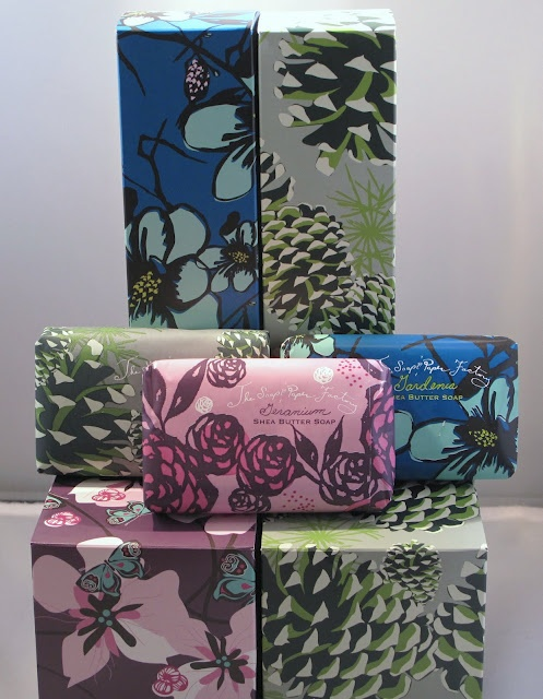 Here's some more great #packaging graphics for you Pia Long on Soap & Paper Factory. PD