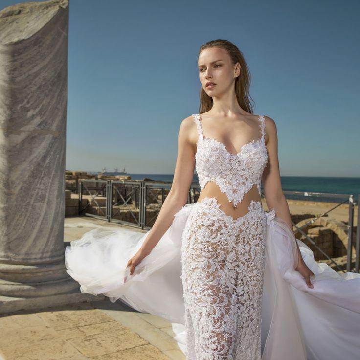 56 best NURIT HEN images on Pinterest | Short wedding gowns, Wedding ...