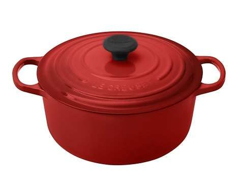 Le Creuset sells lifetime-guaranteed cast-iron cookware, including its iconic Dutch ovens (prices va... - Courtesy of amazon.com