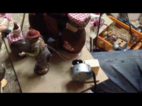 Pastore per presepe in movimento Il Cernitore - IVOSTORE