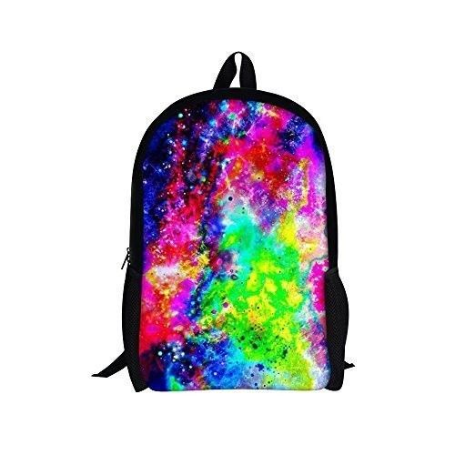 Backpack 16'' School Bag for Teenager Girls Boys Casual Daypack Galaxy 6 NEW #Backpack16SchoolBag