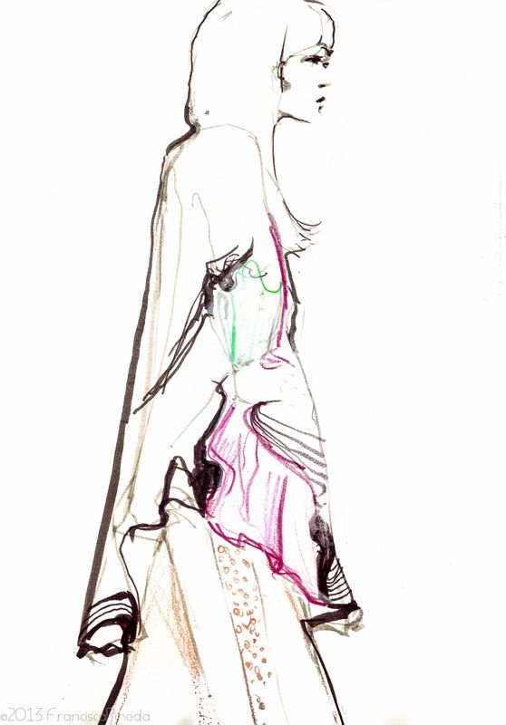 how to sketch fashion design pin now read later style