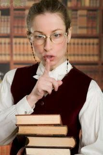 Image result for old librarian shhh