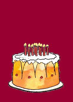 birthday cake animated pics