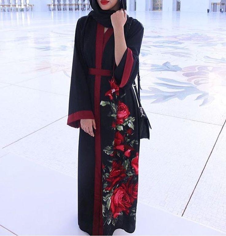 IG: MadihaBlobbb || IG: BeautiifulinBlack || Abaya Fashion ||