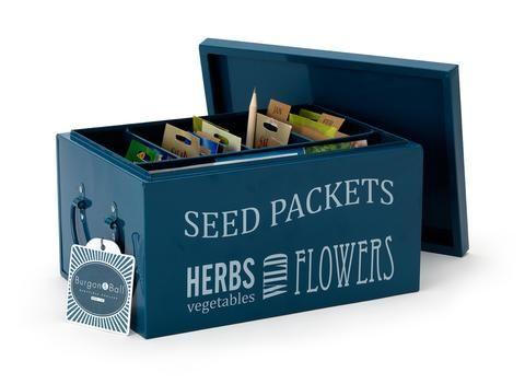Seed Packets Organiser | Burgon & Ball