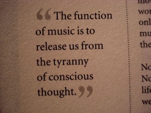 function of music