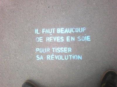 Artcitiz : Street Art-Le blog du pochoir à lyon: Pentes de la Croix Rousse