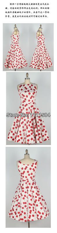 >> Click to Buy << free shipping Sexy Printing 50's Sleeveless pinup Dress Vintage Rockabilly Prom UK6-24 #Affiliate
