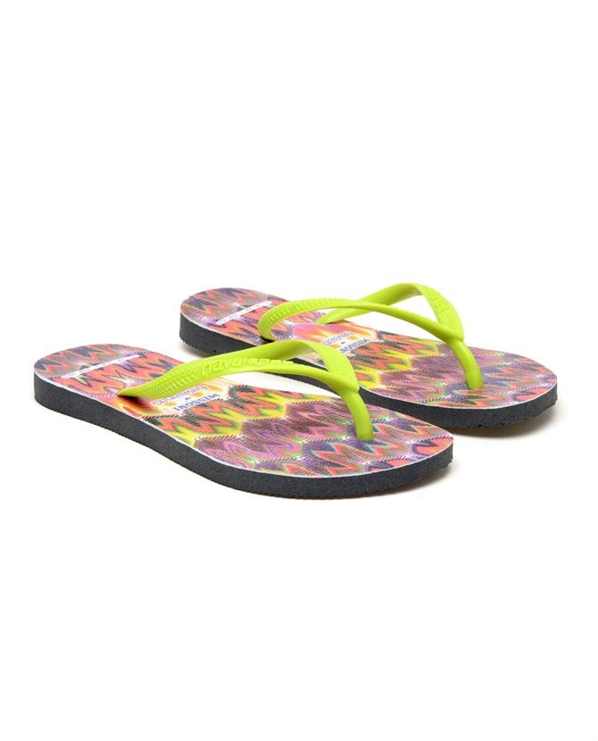 Cool aren't they?Browns fashion & designer clothes & clothing | Missoni X Havaianas | Multi-coloured flip flops