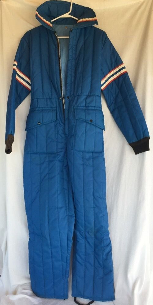 Vtg Snowmobile Snowsuit Snow Mobile Ski Suit Pants NYLON ...
