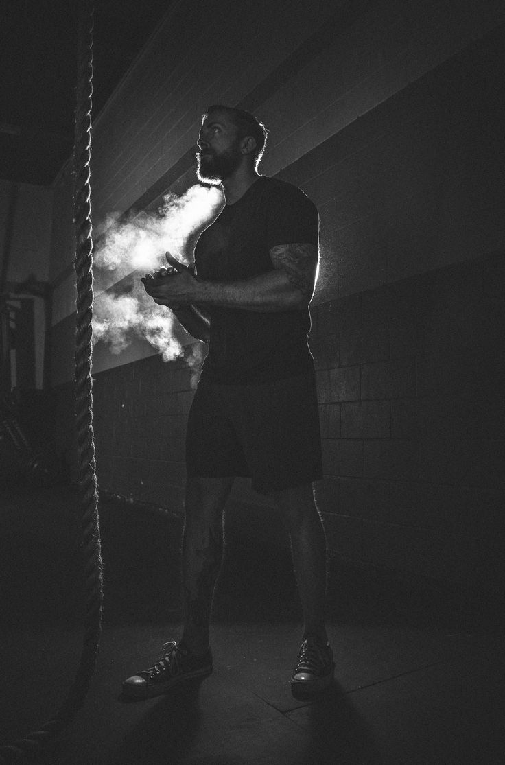 Promotional photos for an upcoming crossfit compeition