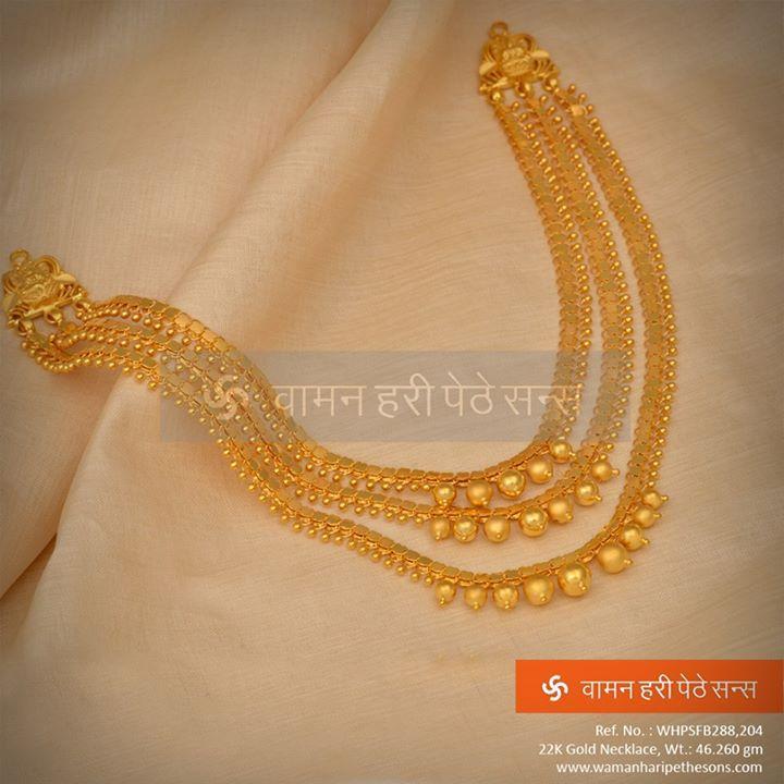 A unique #Designer #Gold #Necklace for the unique you!!!
