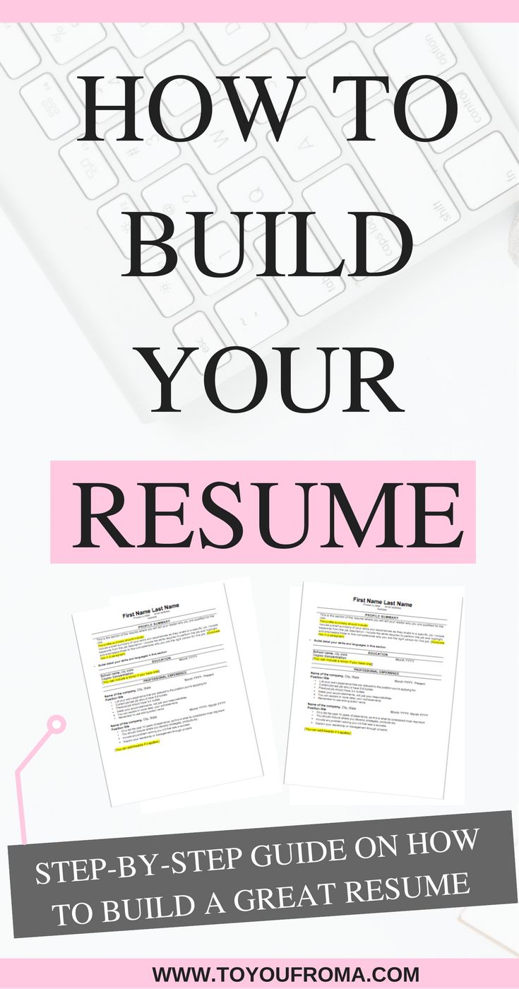 Do you know what you need to create a Resume that stands out? Learn the steps you need to build the Resume that will land you your next job.  #resume #careeradvice #resumetips