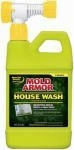 Barr Company, The 56Oz Arm Hse Wash Spray Fg511 Structural Cleaners by BARR COMPANY, THE. $8.32. 56 OZ, Mold Armor House Wash Hose End Spray, Exterior Home Cleaner, Convenient Easy To Use Sprayer Attaches To Any Garden Hose, Spray On & Rinse Off For Effective Cleaning Without Scrubbing, Eliminates Tough Dirt & Mildew Stains From Wood, Vinyl and Brick Siding, Also Works On Driveways, Sidewalks, Garbage Cans, Patio Furniture, Decks & Fences, Excellent Pre-Paint ...