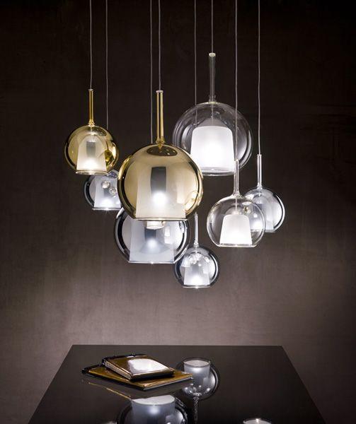 Negozio lampadari e lampade a sospensione di design for Lampadari design cucina