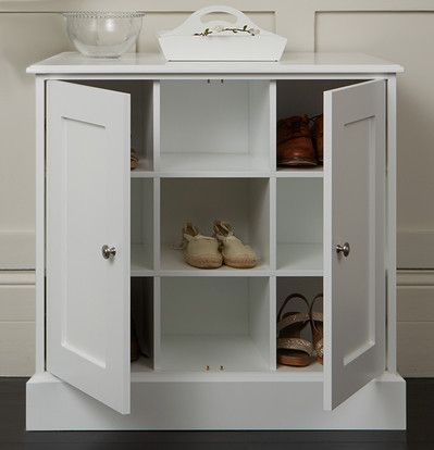 New Hampshire double cupboards with shoe storage - The Dormy House