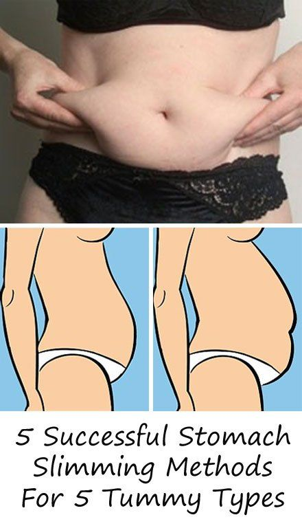 5 Successful Tummy Slimming Methods For 5 Tummy Types