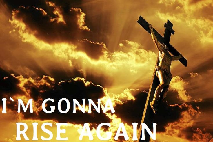 YOUR KING LIVES FOREVER: Jesus was killed and died on the cross, but the devil could`nt keep him dead, Jesus rised again, The Man rised again, again and again!