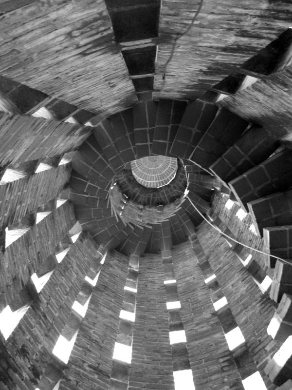 Wo ist oben, wo ist unten? :-) Interessante Perspektive jedenfalls!