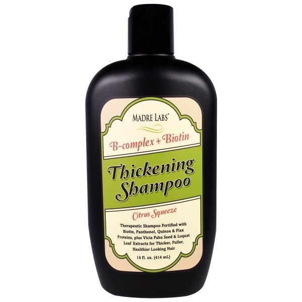 BestSeller: Thickening B-Complex + Biotin Shampoo. Therapeutic Shampoo Fortified with Biotin, Panthenol, Quinoa & Flax Proteins, plus Vicia Faba Seed & Loquat Leaf Extract for Thicker, Fuller, Healthier Looking Hair Must Have Skin Products Face Skin Care Simple Anti Aging Hacks Hair Care Recipes Body Scrubs