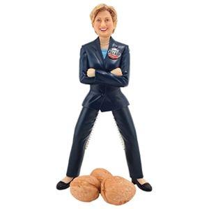 Stupid.com: Hillary Clinton Nutcracker.  I want this for Christmas.