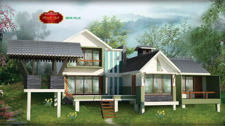 Face Holiday Village | Villas in Ooty | Brochure | Page - 17 | Brook Dale Villa 3 BHK Exterior