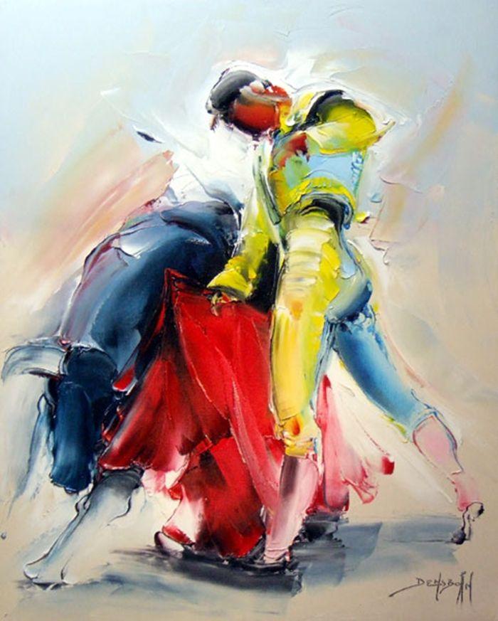 Daniel Densborn. Современные художники Франции