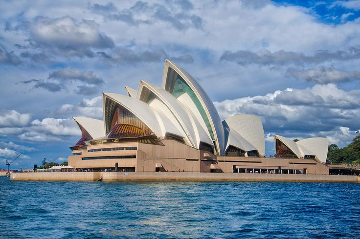 Sydney Opera House from the Harbour   stuckincustoms.com   Bloglovin'