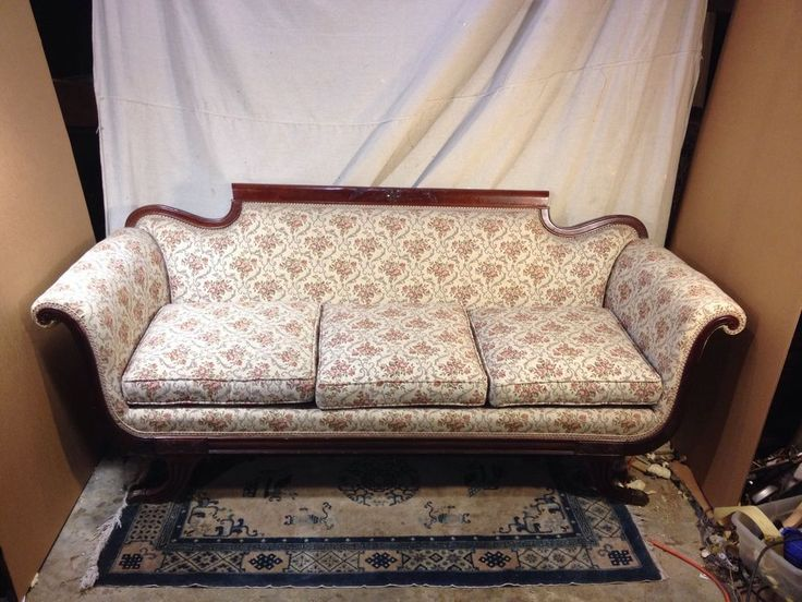 Couch Duncan Phyfe Antique Ships Freight See 12Pics 4 Size &details. Make Offer. #Empire #DuncanPhyfe