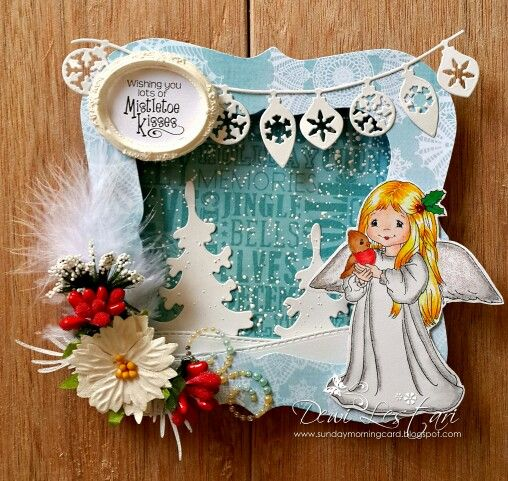 #whimsystamps #christmas #shadowbox #giftidea #handmade #forsale
