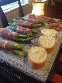 I love my new raclette! Here's a few pics of what we've done. Cookinitup.velata.us